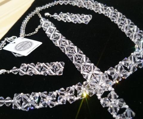 Biżuteria ślubna Swarovski